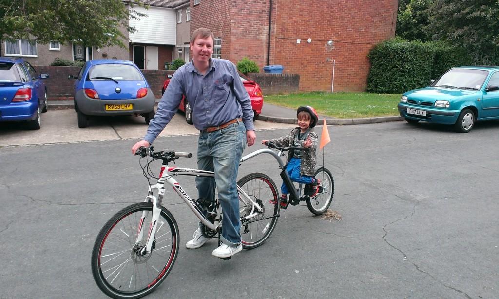Adventure Echo Six Tagalong Bike
