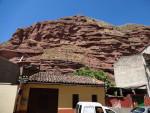 Rocky wall in Najera