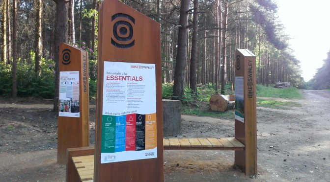 EyeCycled the Swinley Forest Mountain Bike Trails