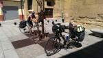 Bike Pilgrims are nothing new.