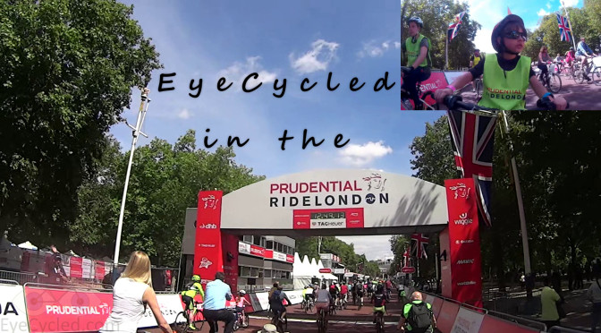 Prudential RideLondon 2015, Part 1 - Free Cycle Day.