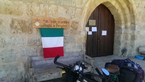 San Nicolas de Puente Fitero, pilgrims' hospital (is in fact a hostel)