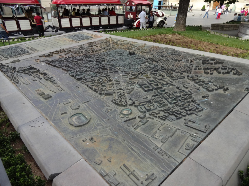 3D map of León