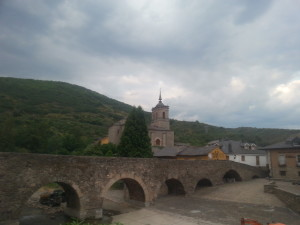 Molinaseca Stone Bridge