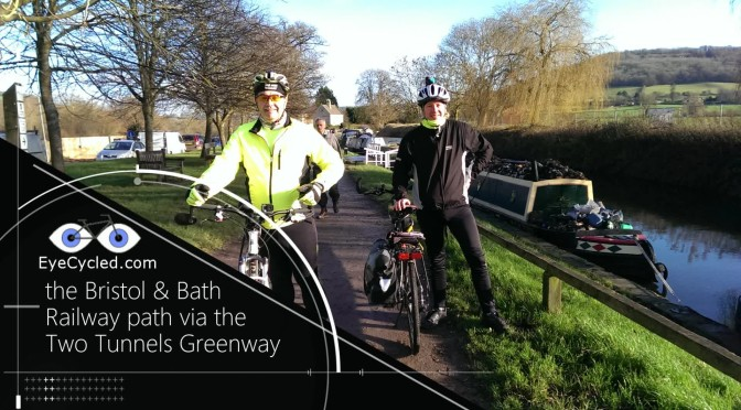 EyeCycled the Bath and Bristol Railway Path via the Two Tunnels Greenway.