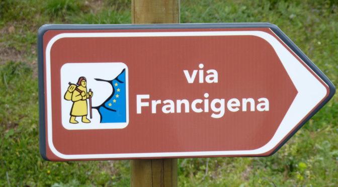 Via Francigena... Exciting news.